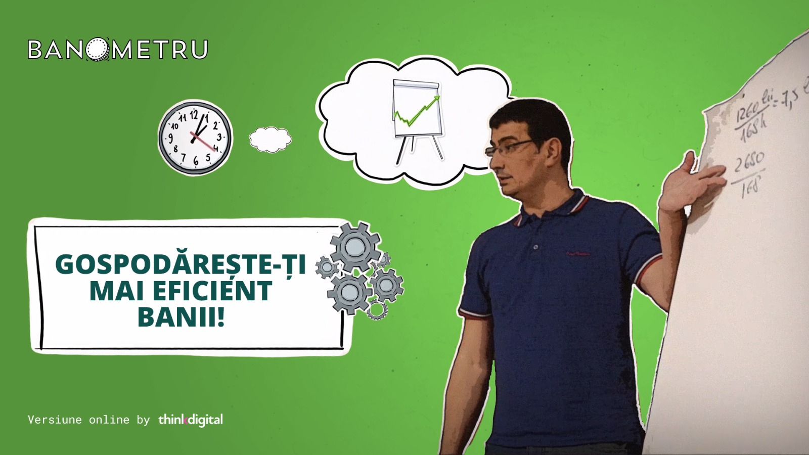 Banometru lansează versiunea integral online, în colaborare cu Thinkdigital