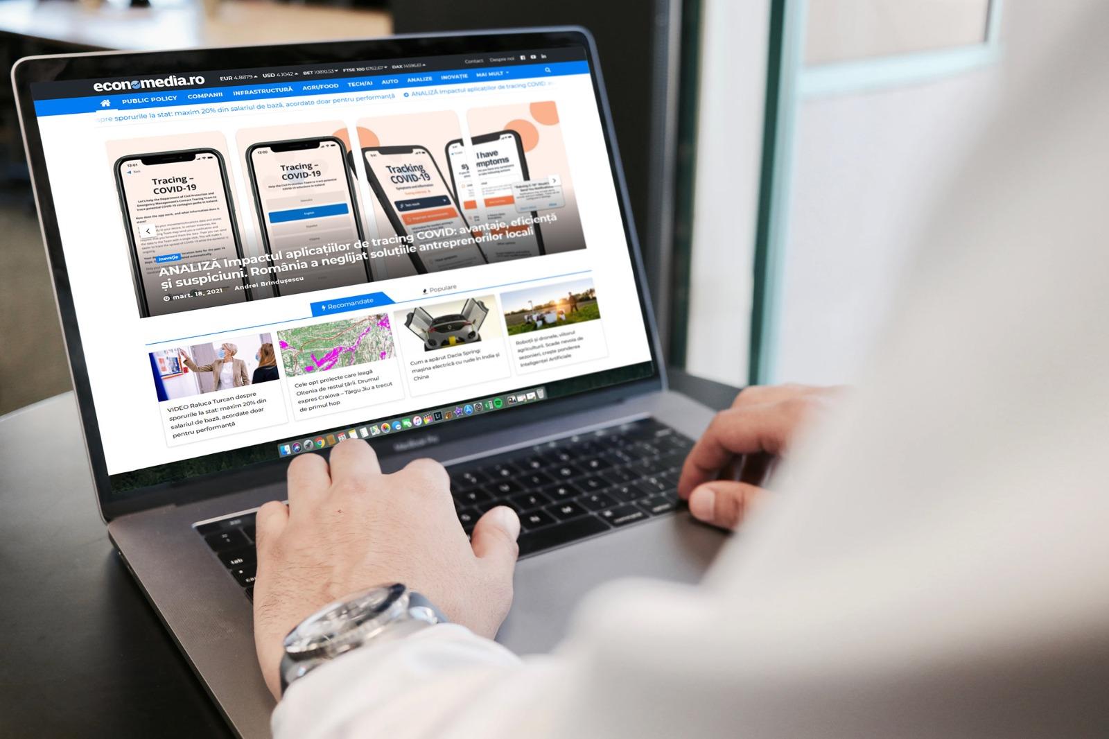 Thinkdigital este reprezentantul de vânzări al Economedia, noua publicație independentă realizată de echipa G4Media